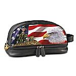 USMC Leather Travel Bag