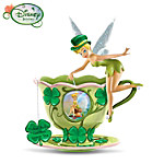 Disney Tinker Bells Garden Green Tea Figurine