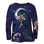 Artistic Long-Sleeved Shirt: Fairy Magic