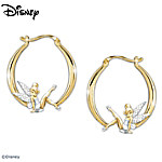 Believe In The Magic Tinker Bell Diamonesk Earrings