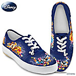 Wonderful World Of Disney Artistic Womens Canvas Shoes
