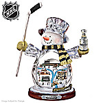 NHL Pittsburgh Penguins� Crystal Snowman Figurine
