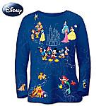 Magic Of Disney Artistic Apparel Womens Shirt