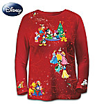 Disney Jolly Holiday Magic Womens Shirt
