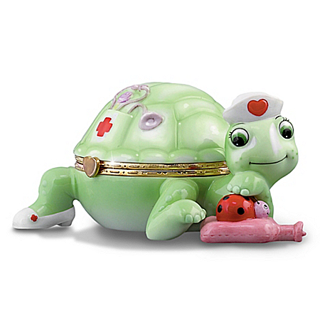 """Tender"" Turtle Music Box: Collectible For Nurses"