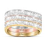 Three Band Diamond Ring: Timeless Love