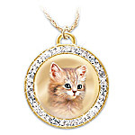 Jurgen Scholz A Cat Is A Friend Fur-Ever Pendant Necklace