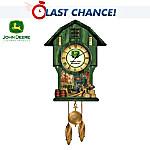 John Deere Classic Times Cuckoo Clock