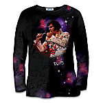 Elvis In Concert Women's Artistic Shirt