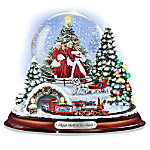 """Sleigh Bells In The Snow: Water Globe With The Movie Characters From """"White Christmas"""""""