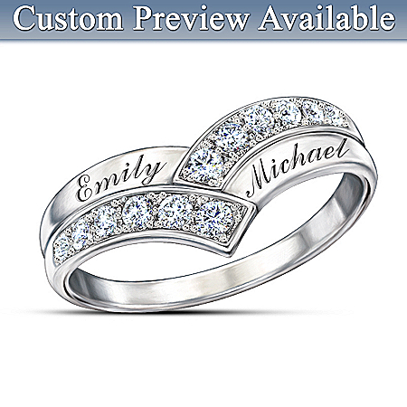 Our Enduring Love Personalized Diamond Ring