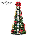 Christmas Decoration Thomas Kinkade Holiday Classics Fully Decorated 4-ft Pre-Lit Pull-Up Christmas Tree