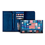 American Pride Women's Leather Wallet