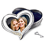 The Heart To Heart Recordable Keepsake Box And Photo Frame