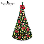 Thomas Kinkade Victorian Traditions Pre-Lit And Fully Decorated Christmas Wall Tree