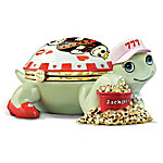 The Queen Of Hearts Turtle Music Box For Casino Lovers