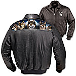 Al Agnews The Spirit Of The Wilderness Leather Jacket