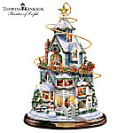 Thomas Kinkade The Night Before Christmas Tabletop Centerpiece