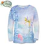 Disney Tinker Bells Magical Moments Womens Shirt