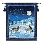The Moonlight Serenade Illuminating Tapestry