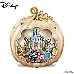 Disneys Spook-tacular: Halloween-Themed Pumpkin Tabletop Centerpiece