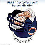 Chicago Bears Personalized Baby's First Christmas Ornament