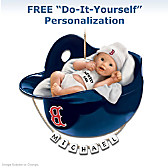 Boston Red Sox Personalized Baby's First Ornament