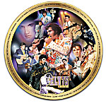 Elvis 75th Anniversary Commemorative Masterpiece Edition Collector Plate