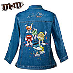 M&MS Sweet Celebration Womens Denim Jacket
