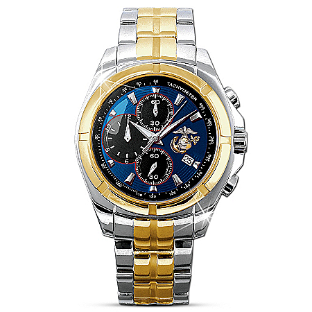 For My Marine Mens Chronograph Watch