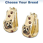 A Loyal Companion Dog Breed Cuff Earrings