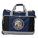 USMC Semper Fi Duffel Bag: Comes With A Removable And Adjustable Shoulder Strap