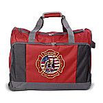 Firefighter Rolling Duffel Bag