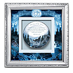 Journey Of The Spirit Square Framed Shadowbox Plate