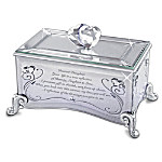 Reflections Of Love Mirrored Music Box: Show Your Daughter Shes Precious In Your Eyes