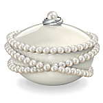 Grandmas Pearls Of Wisdom Music Box With Over 75 Cultured Freshwater Pearls