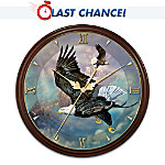 Eagle's Triumph Masterpiece Wall Clock