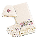 Garden's Perfection Women's Scarf Set