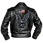 The Open Road Mens Leather Jacket