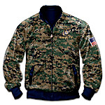 United States Marine Corps Pride Men's Reversible Camouflage Jacket
