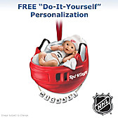 Detroit Red Wings® Personalized Baby's First Ornament