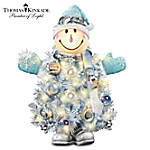Thomas Kinkade Snow Place Like Home For The Holidays Pre-Lit Christmas Tree