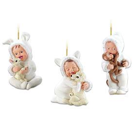Cool Cuties Ornament Set: Set Two