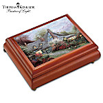 Thomas Kinkade Sweetheart Cottage Music Box