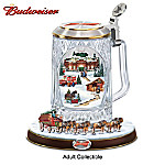 Budweiser Holiday Cheers Collectible Stein