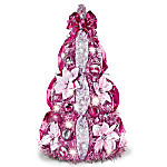Breast Cancer Awareness 2-Ft Pre-Lit Pull-Up Christmas Tree