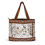 Spirits Of The Wilderness Quilted Tote Bag