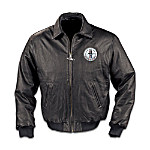 Mens Leather Ford Mustang Jacket