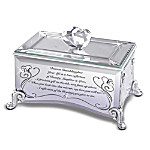 Reflections Of Love Mirrored Music Box: Show Your Granddaughter Shes Precious In Your Eyes