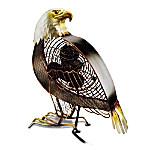 An Eagles Majesty Decorative Fan
